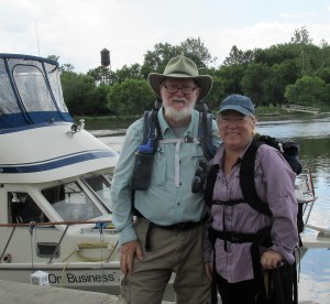 The end of a 5-week hike of the Erie Canal Trailway